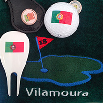Algarve or Vilamoura Golf towel
